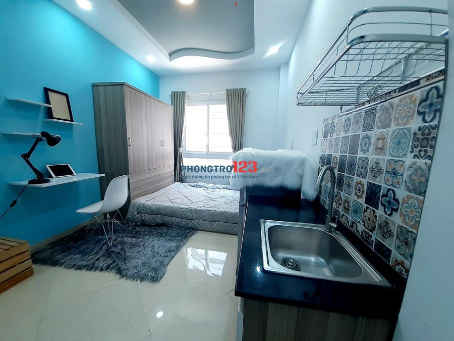 Phòng trọ Sạch Sang Sáng 30m2 5,5tr - Nơ Trang Long, Bình Thạnh