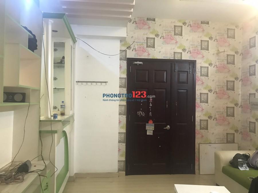Tìm nữ ở ghép (Chung cư Khang Gia, Gò Vấp) Call 076.726.4052