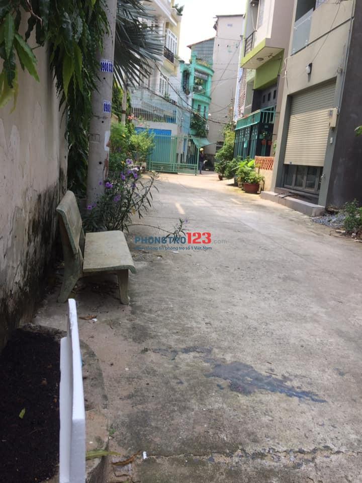 Phòng trọ full nội thất Quận Bình Thạnh, Nguyễn Xí, Diện tích 30m2