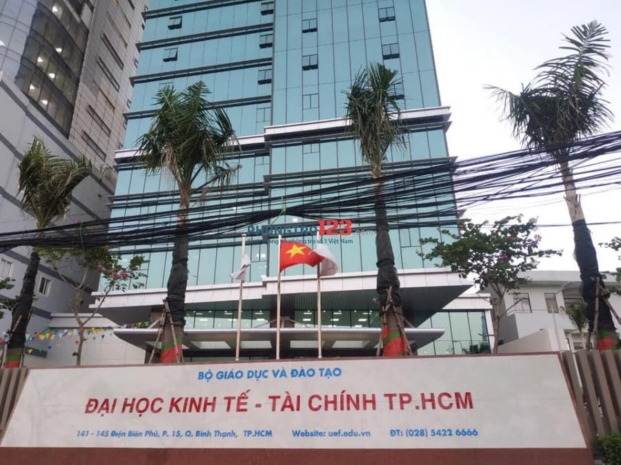 Cho thuê phòng 153/16f đường Điện Biên Phủ, P15, Q. Bình Thạnh.
