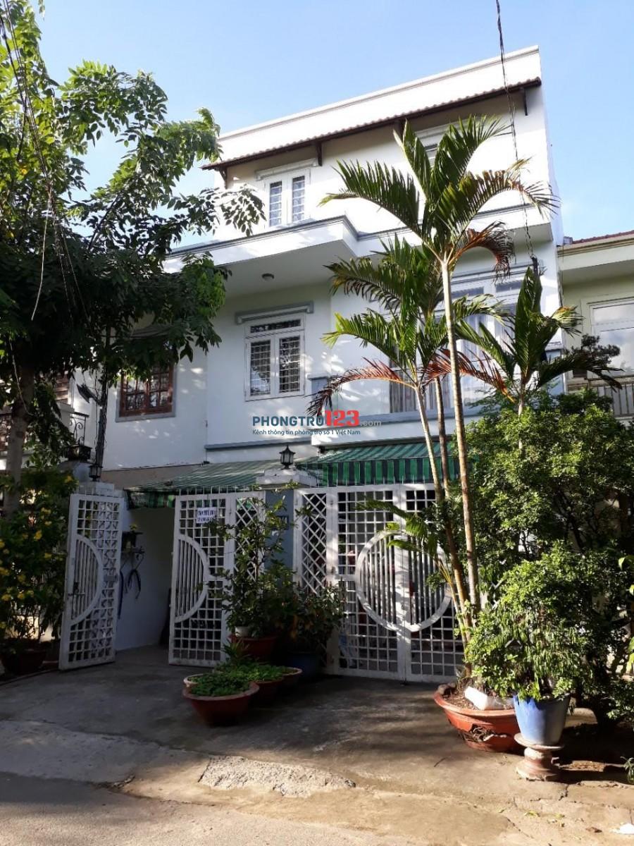 Cho thuê nhà HXT Nguyễn Hữu Dật, Q.Tân Phú - 8 x 20m (1L) - 18 Triệu/Tháng