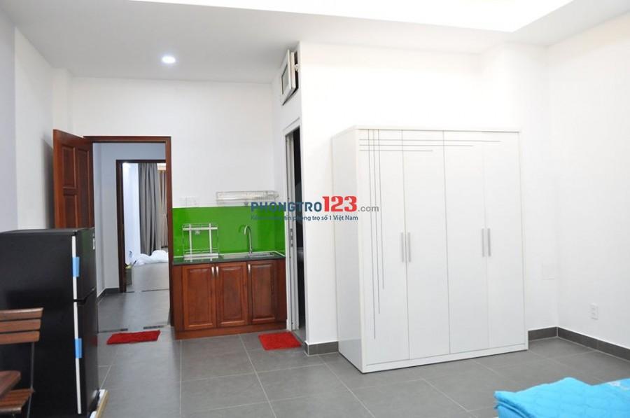 Q.Bình Thạnh - Cho thuê phòng cao cấp, full nội thất, view sông, mới toanh 100% giá từ:5tr/th