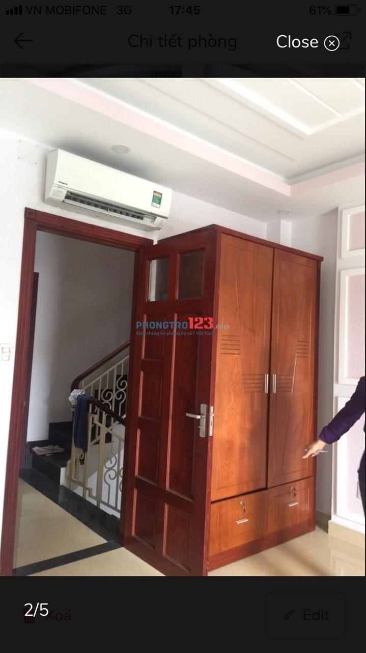 Phòng trọ cho thuê phòng mới tại đường Nguyên Hồng quận Bình Thạnh