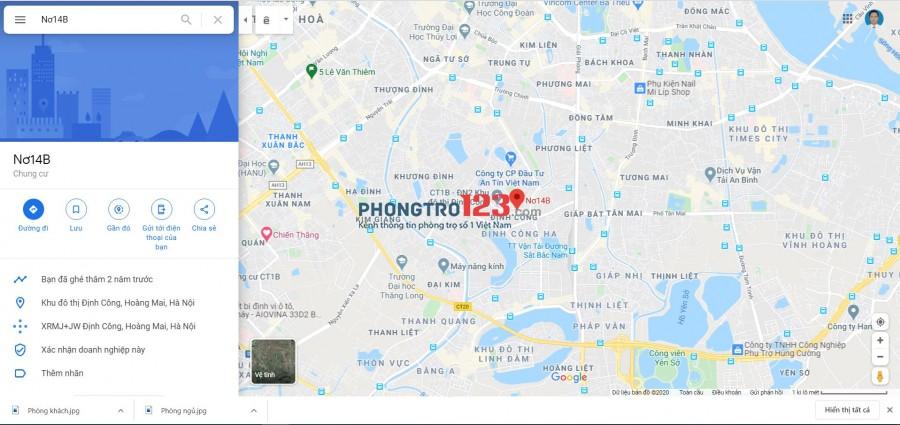 Tìm người ở Ghép - Chung cơ Nơ14A - KĐT Định Công