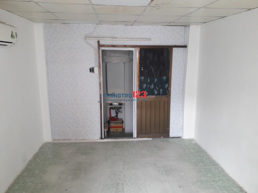 Phòng trọ cho thuê diện tích 20m2 có chổ nấu ăn và toilet riêng