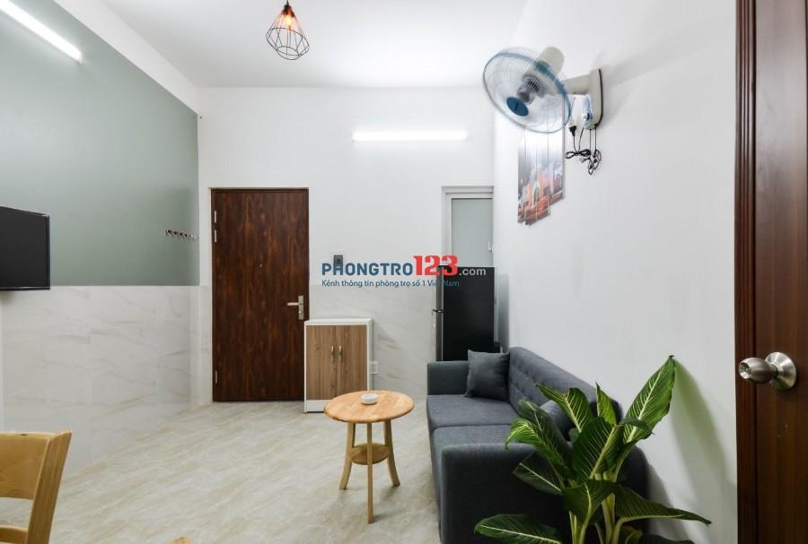 Cho thuê căn hộ mini 40m2, 1PN-PK, full nội thất ngay Etown- Cộng Hòa
