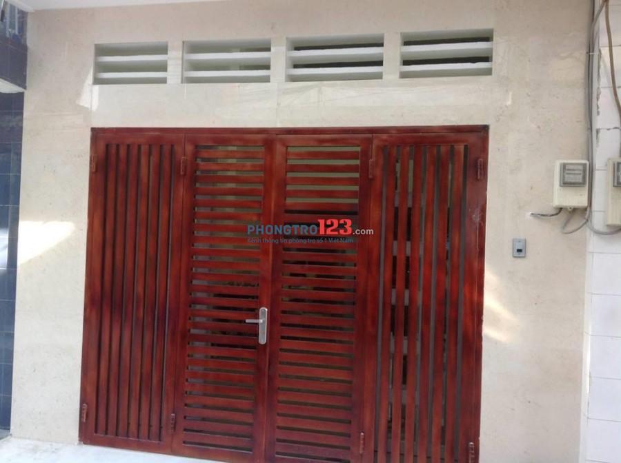 Cho thuê nhà nguyên căn quận 11 ngay Đầm Sen