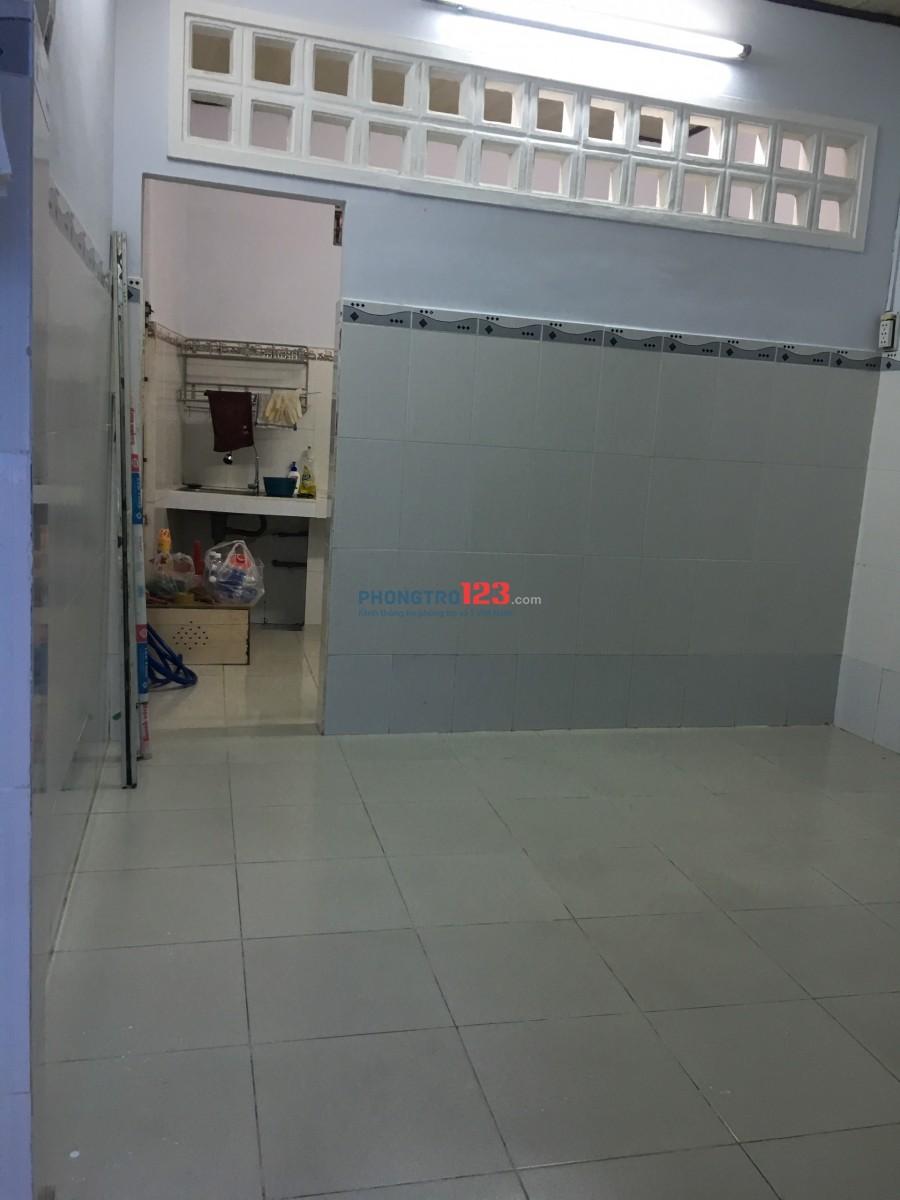 Chính chủ cho thuê nhà nguyên căn 3,8x7 1 trệt 1 gác tại Thích Quảng Đức P4 Q Phú Nhuận