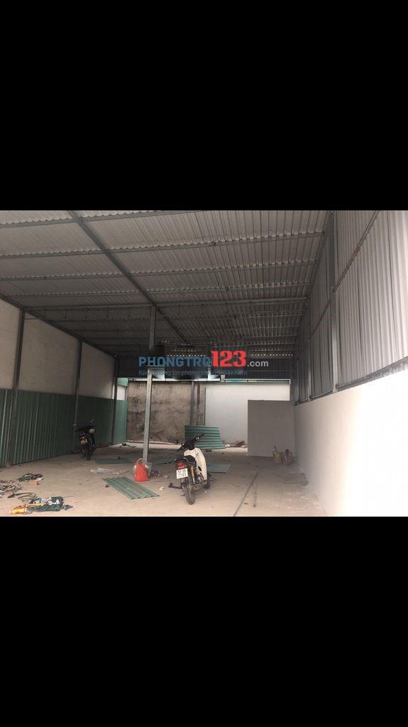 Chính chủ cho thuê nhà kho xưởng sản xuất tại KCD Bình Lợi Q Bình Thạnh Giá từ 10tr/tháng