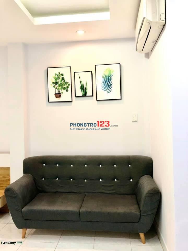 Phòng full nội thất quận Phú Nhuận đường Lê Văn Sỹ. Giá thuê 6 triệu/tháng
