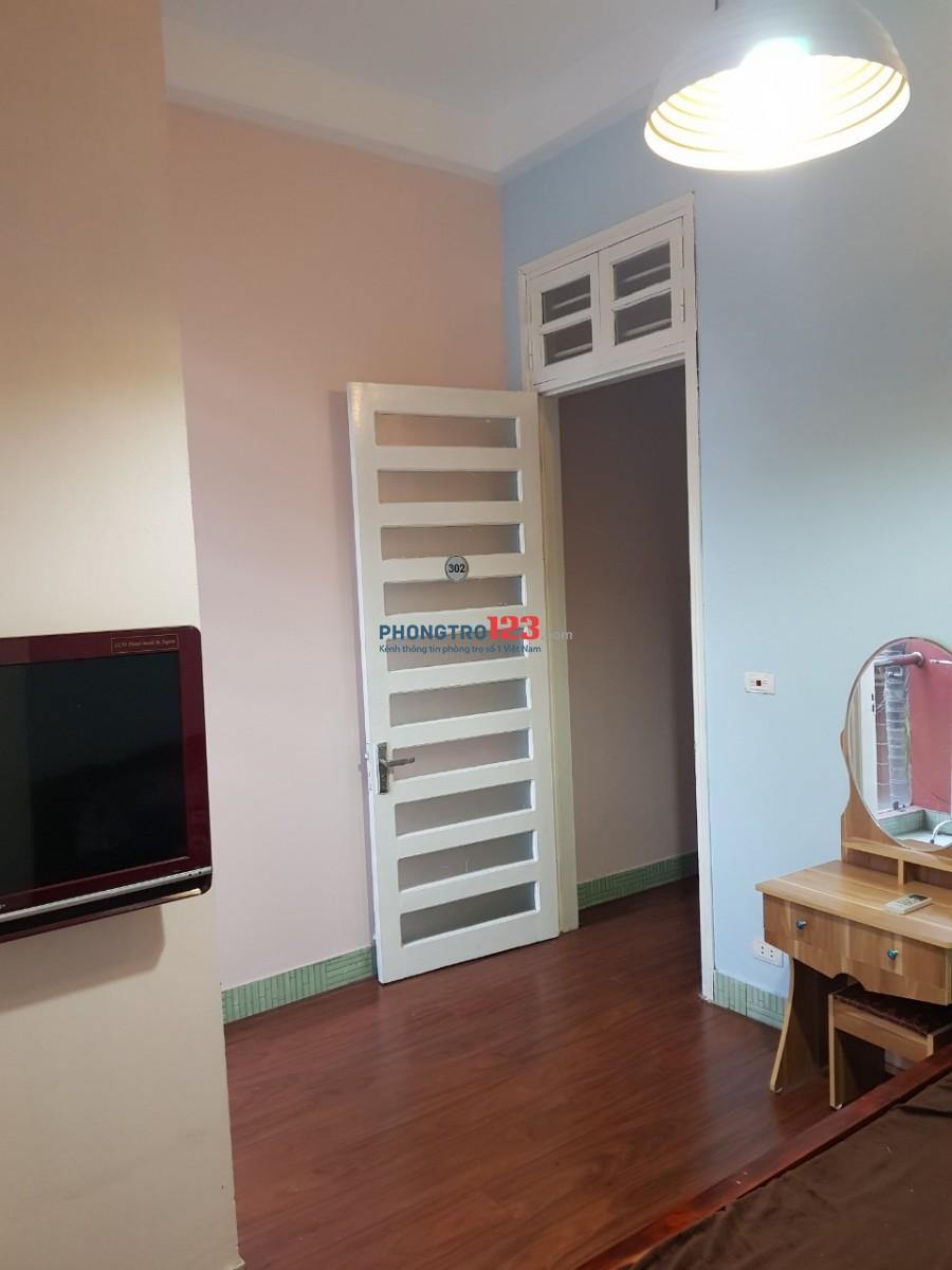 Cho thuê phòng đầy đủ tiện nghi nội thất diện tích 25m2