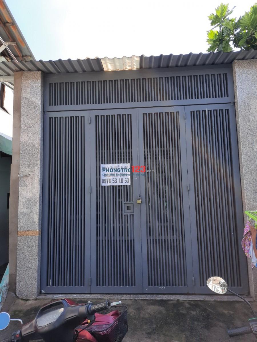 Cho thuê nhà nguyên căn 4,5x20 có 3pn gần Chợ Thủ Đức số 986/13 Kha Vạn Cân Q TĐức