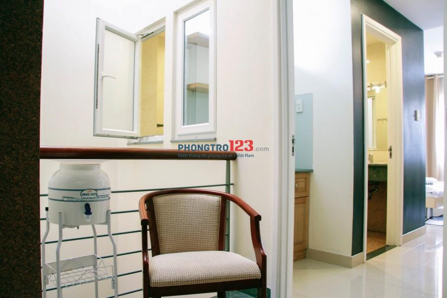 Cho thuê phòng cao cấp, đầy đủ tiện nghi tại 6/17-19 Cách Mạng Tháng 8, P. Bến Thành, Q.1