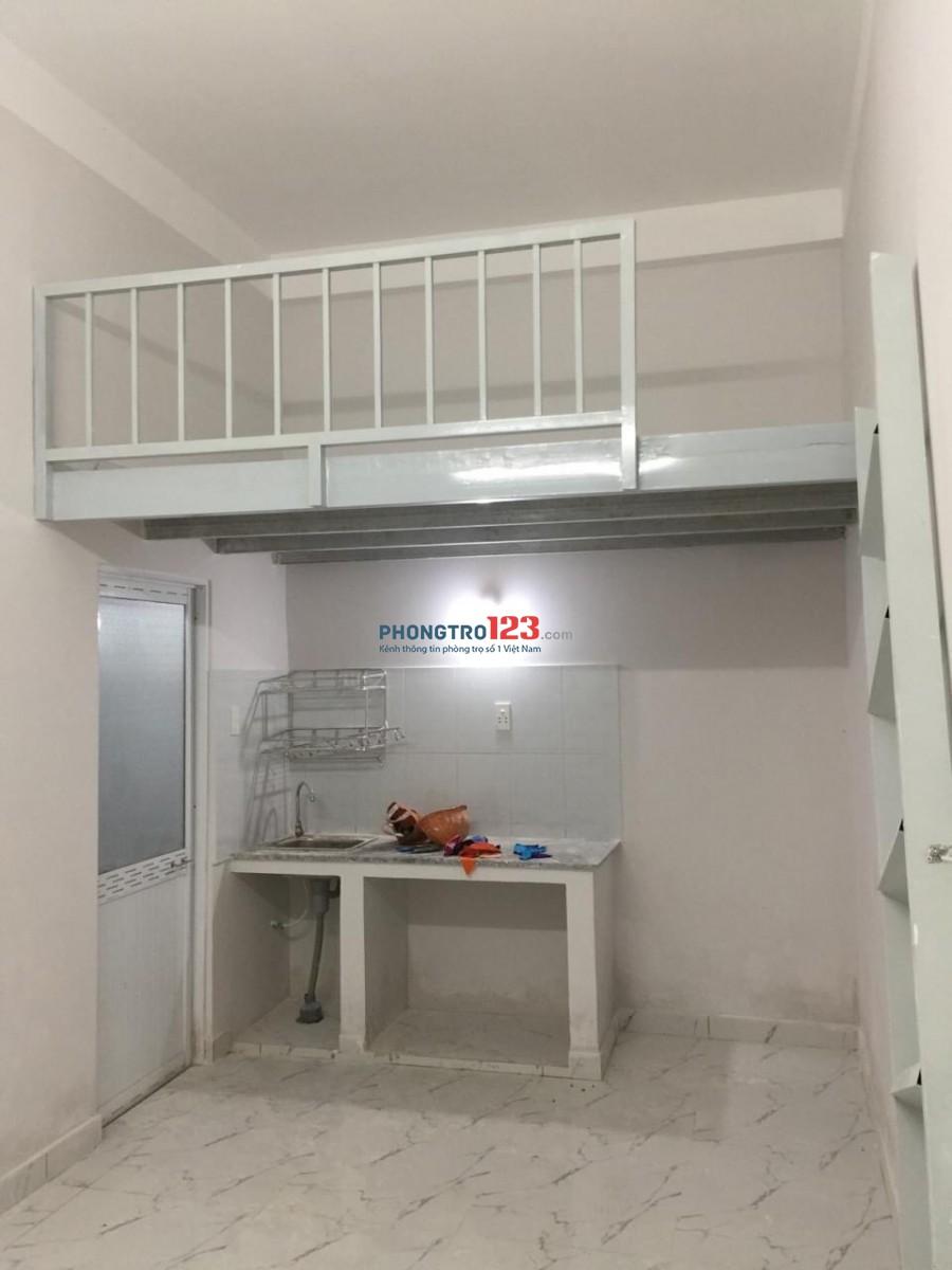 Phòng trọ diện tích 20m2 có gác, Ngay Lê Thị Riêng Q12 gần nhà máy bia Tiger.