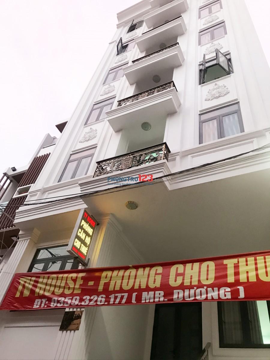 Phòng cho thuê cao cấp dài hạn quận Bình Tân-Khu Tên Lửa- An ninh-Sạch sẽ