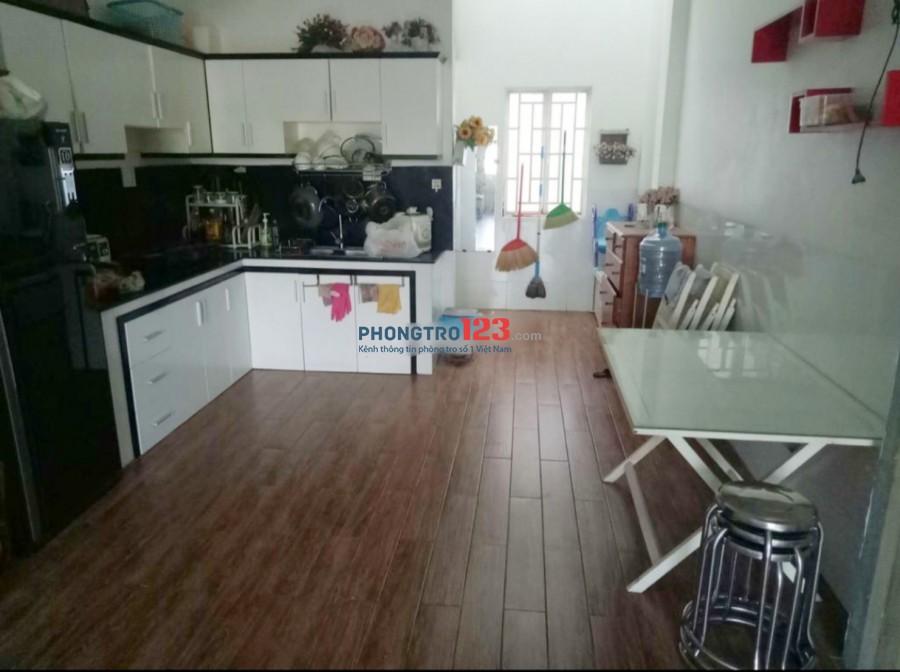 Chính chủ cho thuê nhà nguyên căn 4x14 1 trệt 2 lầu có sẵn nội thất tại QL13 P HBP Q Thủ Đức