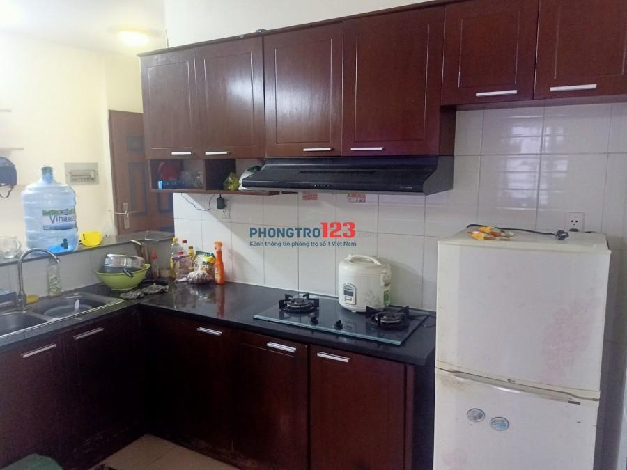 Cho thuê căn hộ chung cư Tân Mai đầy đủ nội thất 67m2 2pn mặt tiền Quốc Lộ 1A Giá 5,5tr/th