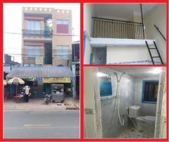 Phòng trọ mặt tiền Mã Lò, Q. Bình Tân, 1tr7 - 2tr5/th, có gác, WC, free giữ xe, wifi, THC
