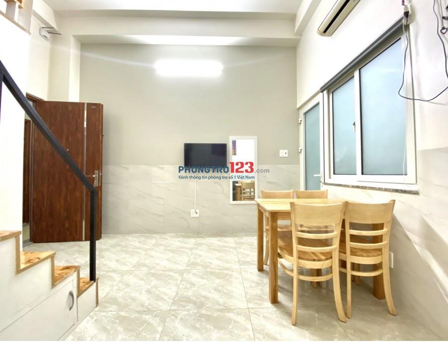 Căn hộ cao cấp, 1 PHÒNG NGỦ + PHÒNG KHÁCH, GÁC full nội thất ngay ETown
