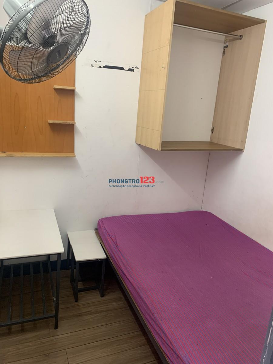 Phòng trọ cho thuê có máy lạnh, ngay trung tâm nhiều tiện ích giá thuê rẻ, có sẵn một số nội thất