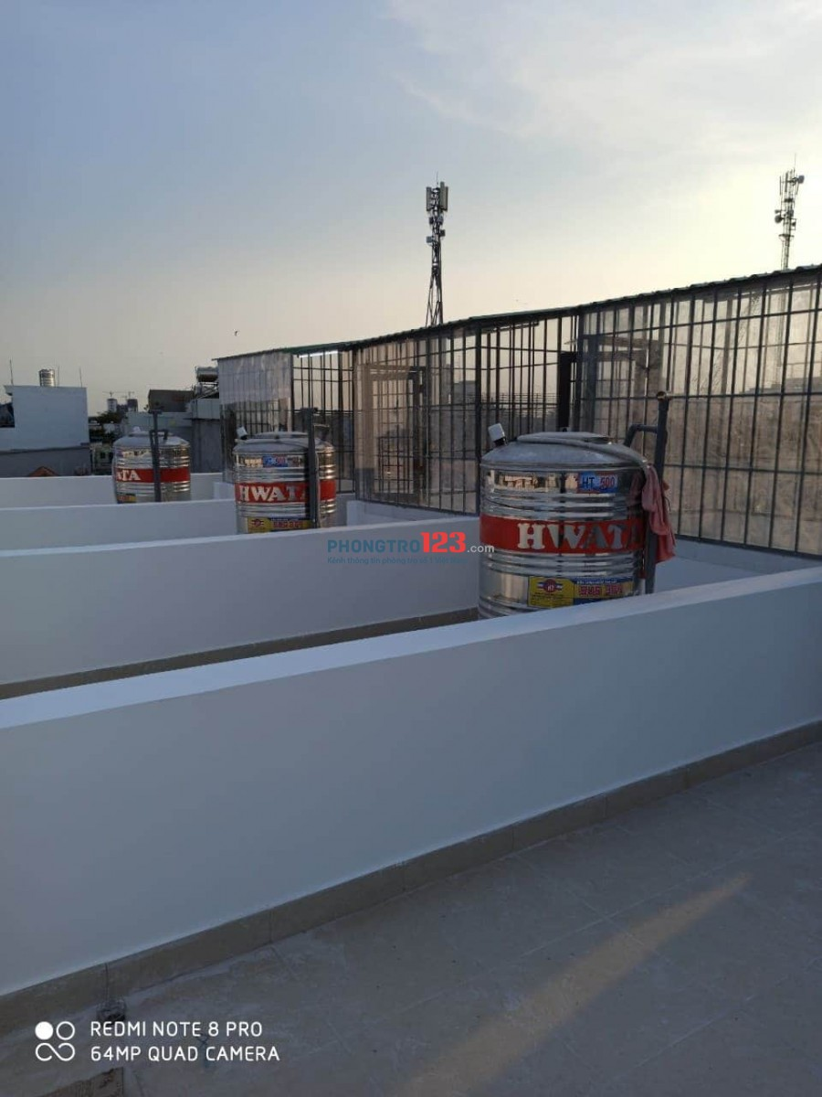 Chính chủ cho thuê nhà nguyên căn 3x7 mới xây 1 trệt 3 lầu tại Nguyễn Sĩ Cố P15 Q8 giá 6,8tr