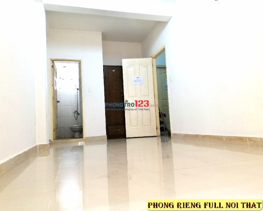 Phòng trọ full nội thất và KTX giá bình dân quận Tân Bình