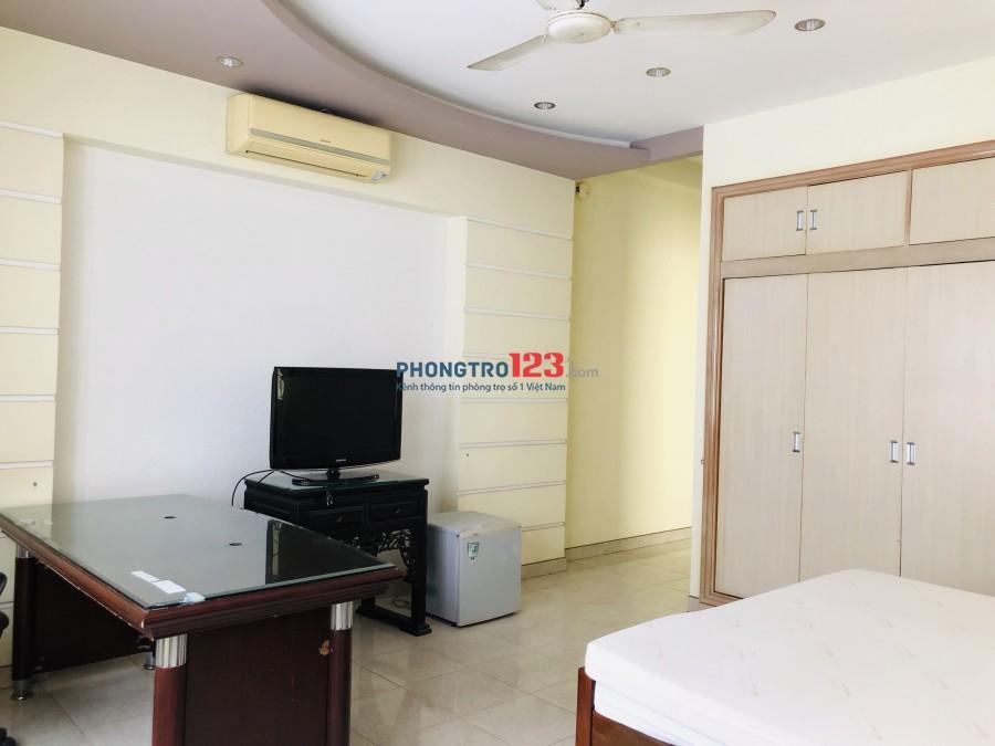 Cho thuê phòng đầy đủ nội thất, dt 30m2, giá 5tr/tháng, đường Điện Biên Phủ