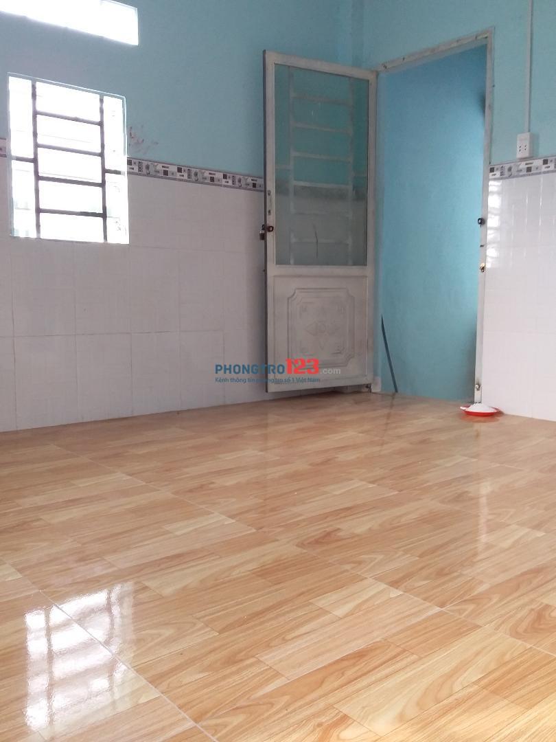 Phòng trọ có gác DTSD 25m, lối đi, WC riêng, giờ tự do, P. BHH, Q. Bình Tân