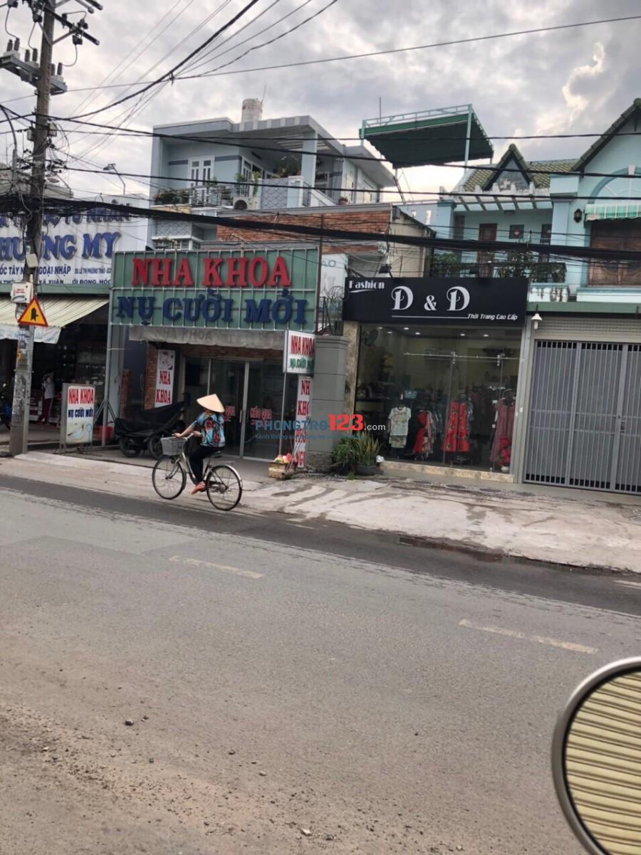 Cho thuê nhà nguyên căn 9x40 mặt tiền Đường Trần Văn Mười Xã Xuân Thới Đông Hóc Môn