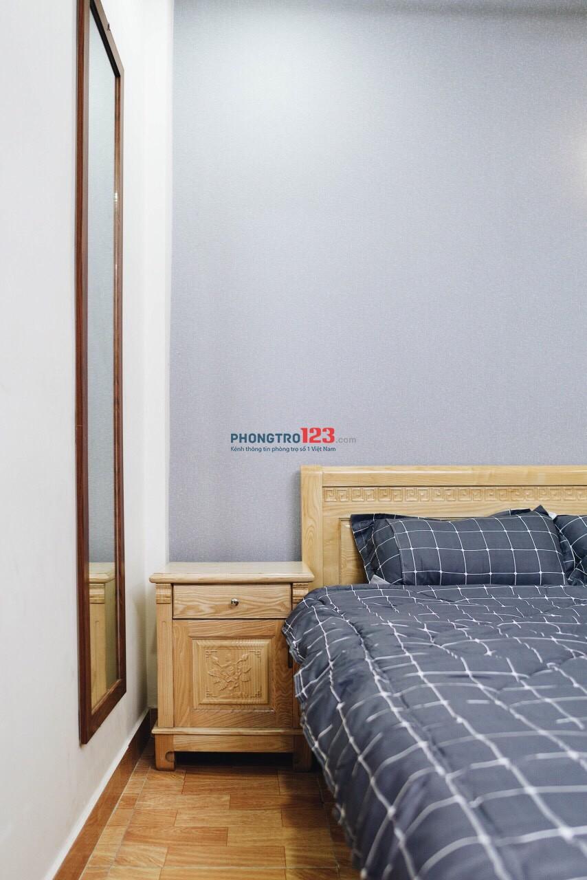 Cho thuê căn hộ mini full nội thất cao cấp quận 3, đầy đủ tiện nghi, phòng có cửa sổ chỉ 5tr/tháng