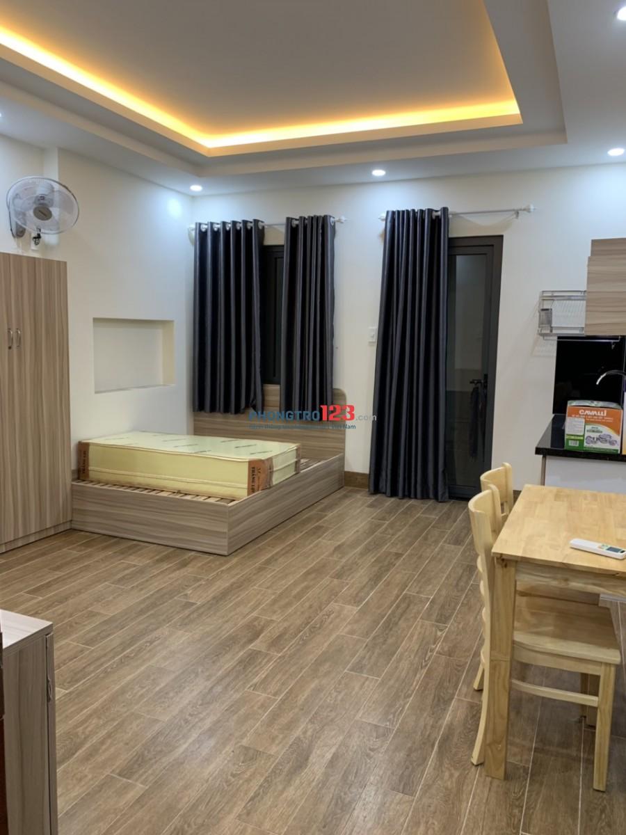 Cho thuê căn hộ dịch vụ, full nội thất, siêu xinh, gần Pandora Trường Chinh, Tân Bình