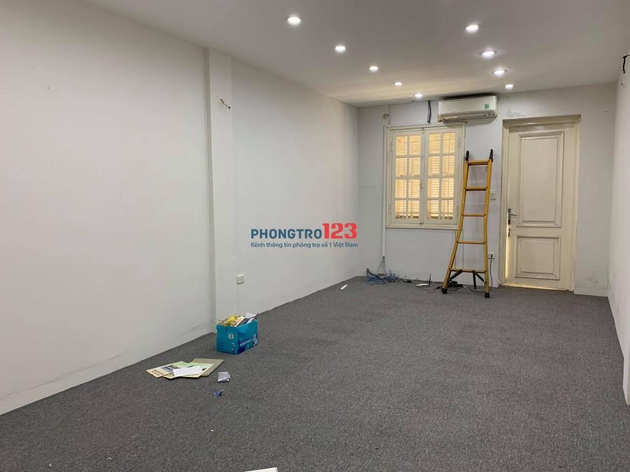 Cần cho thuê Nhà nguyên căn 60m2 - 4 tầng mặt tiền phố Võ Thị Sáu, p. Thanh Nhàn, Hai Bà Trưng