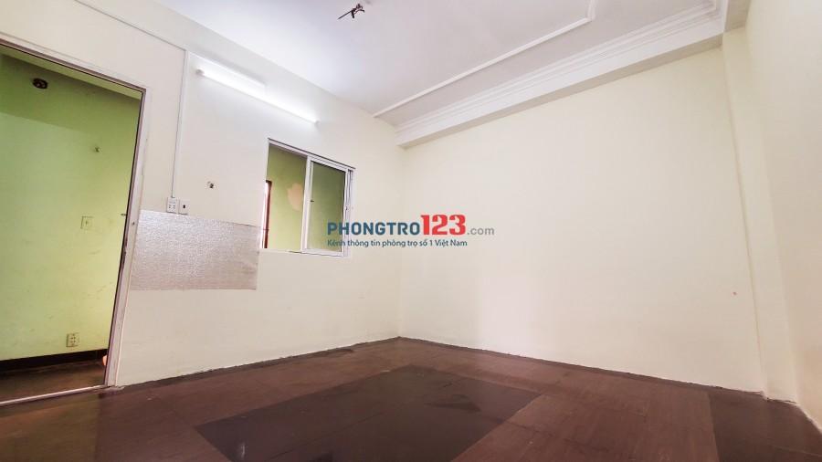 Phòng đẹp, mới, cửa sổ lớn, máy lạnh, mặt tiền Chu Văn An, Bình Thạnh !
