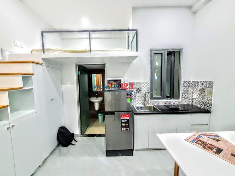 CĂN HỘ MINI đầy đủ nội thất - Giá rẻ - Hình thật giá thật - Giảm ngay 200k/tháng