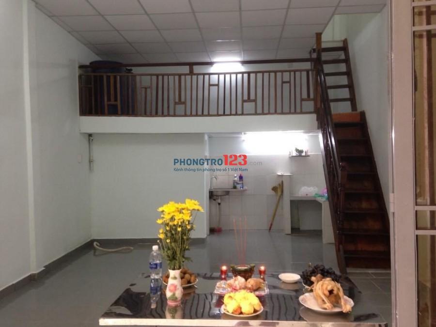 Cho thuê nhà nguyên căn ngay trung tâm phường 8, quận Tân Bình