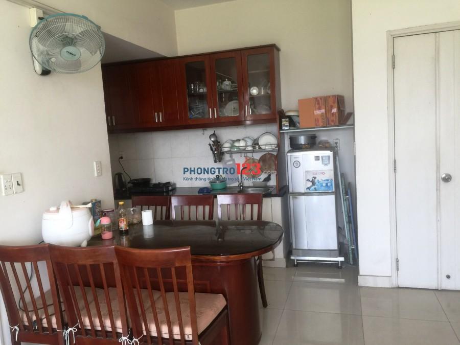 Cho thuê phòng master trong căn hộ chung cư Bình Khánh, Q2