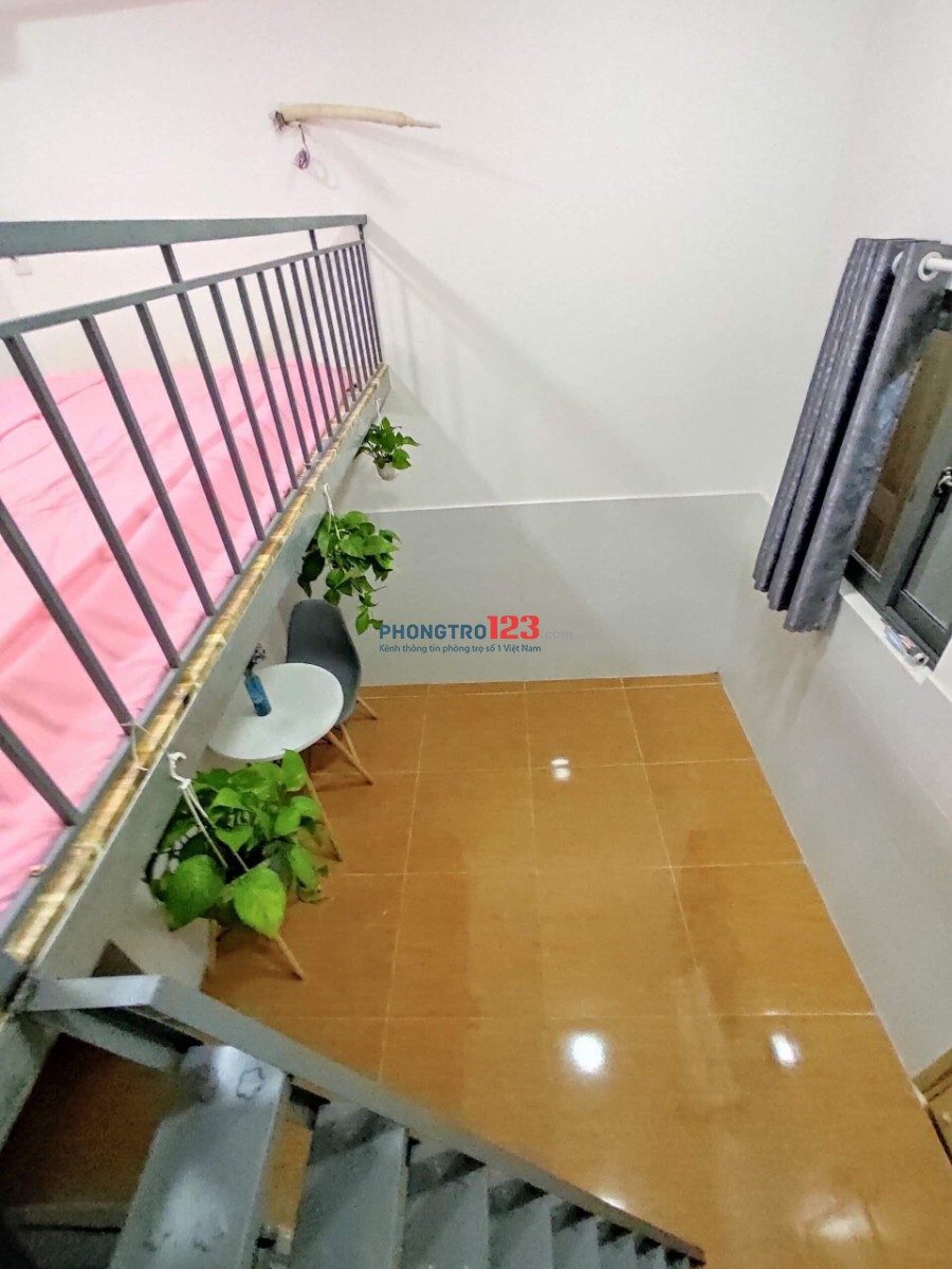 Phòng trọ mới 100%_mới nội thất_giá rẻ Gò Vấp chỉ 3p đến ĐH Văn Hiến
