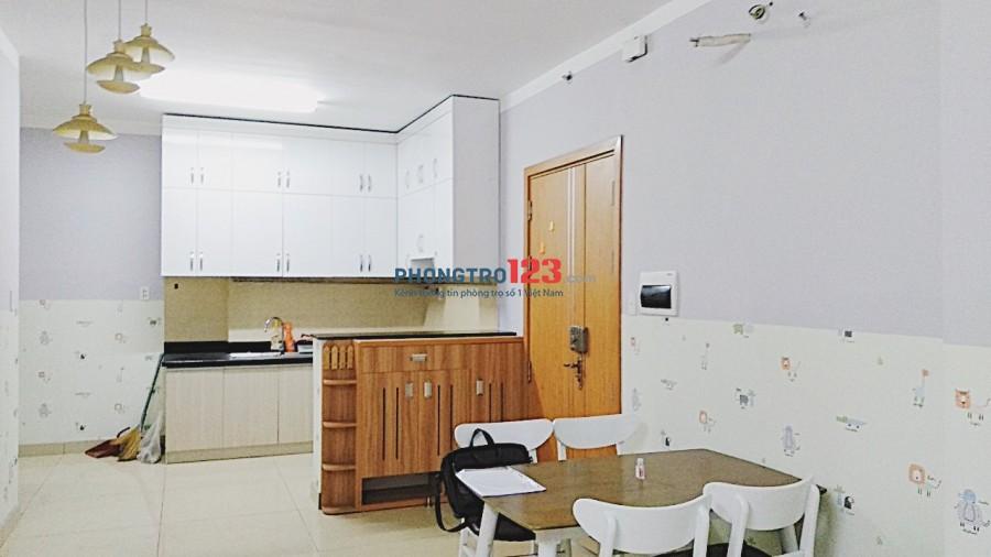 Share phòng đầy đủ nội thất chung cư Saigonres - Bình Thạnh