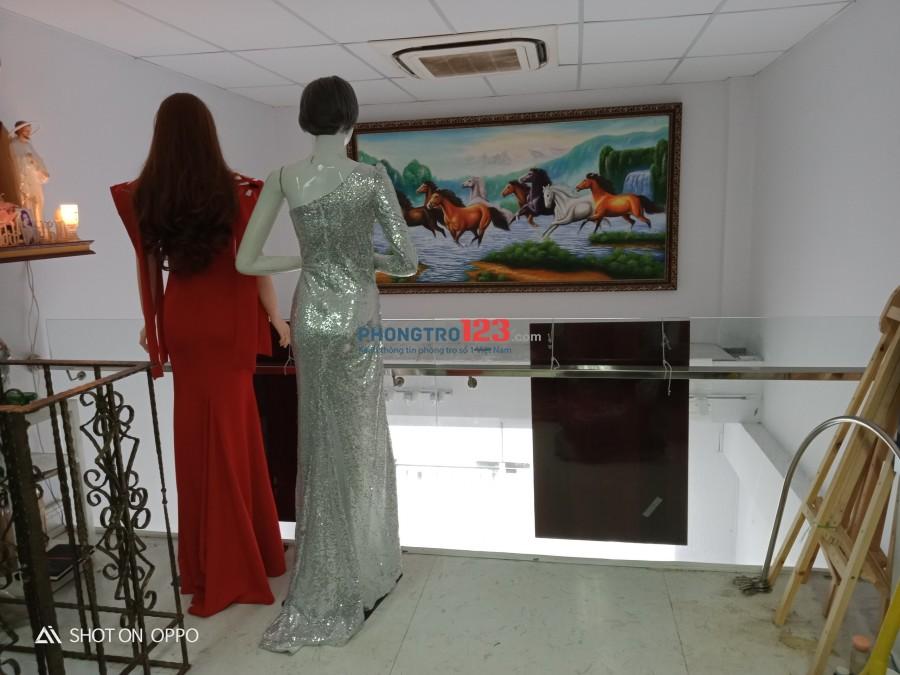 Cho thuê mặt bằng kinh doanh - có chỗ ở lại - Bình Thạnh - TPHCM
