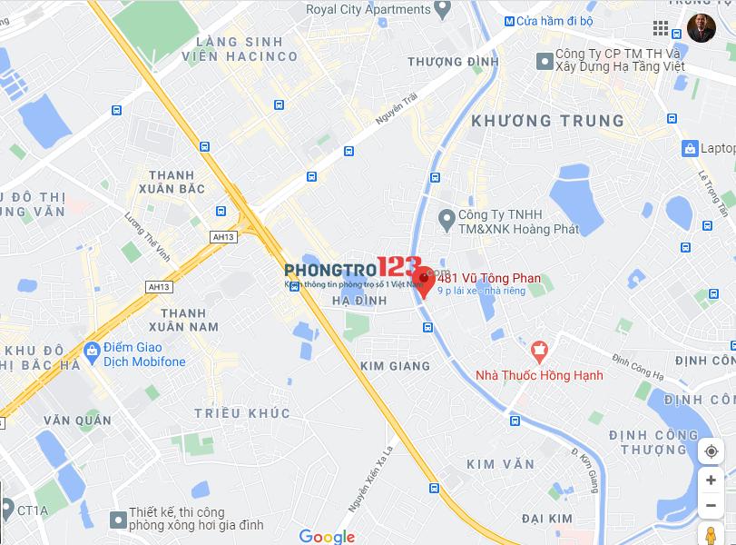 Cho thuê 5/481 Vũ Tông Phan, full đồ, có điều hòa( 1,25tr/người)