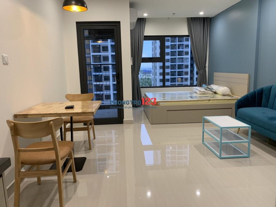 Cho thuê căn hộ studio, nhỏ xinh, đầy đủ nội thất, giá 6,000,000đ/ tháng
