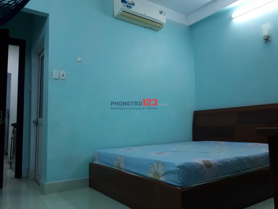 Cho thuê phòng đầy đủ nội thất nhà hẻm xe hơi tại Phạm Viết Chánh P19 Q BThạnh giá 4tr/th