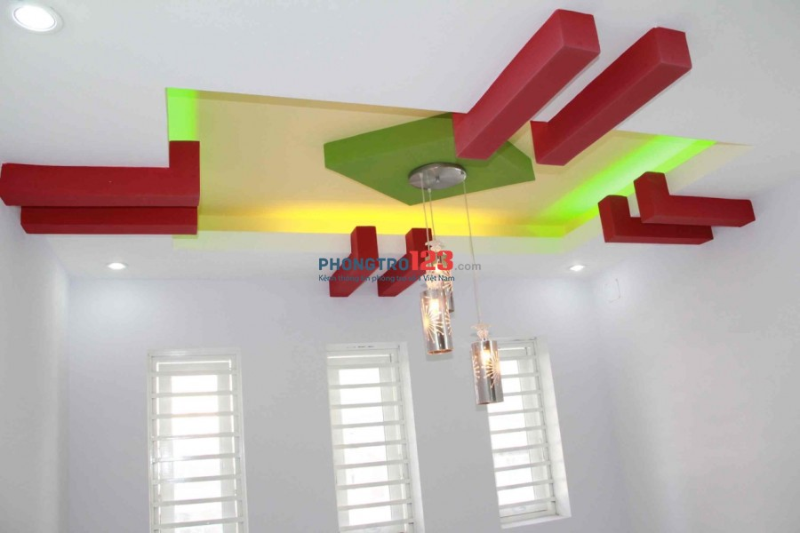 Chính chủ cho thuê nhà nguyên căn 1 trệt 3 lầu có 4pn hẻm 7m tại Âu Cơ P14 Q11 giá 13tr/th