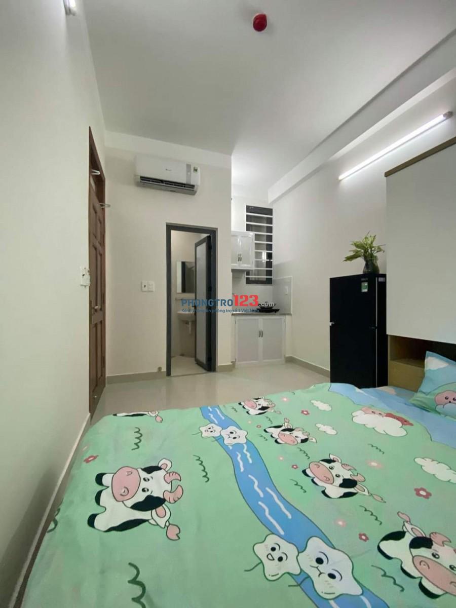 Phòng đủ tiện nghi mới 100% chưa qua sử dụng, gần Lotte sát Q4 Q1, mình chính chủ cho thuê giá tốt