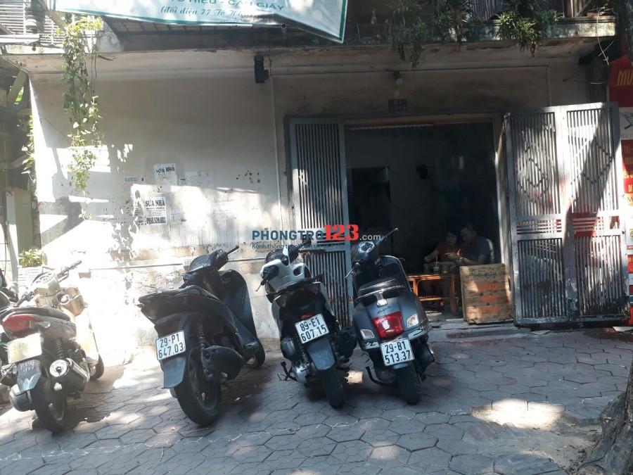 Cho thuê cửa hàng mặt phố Tô Hiệu ( nhỏ)
