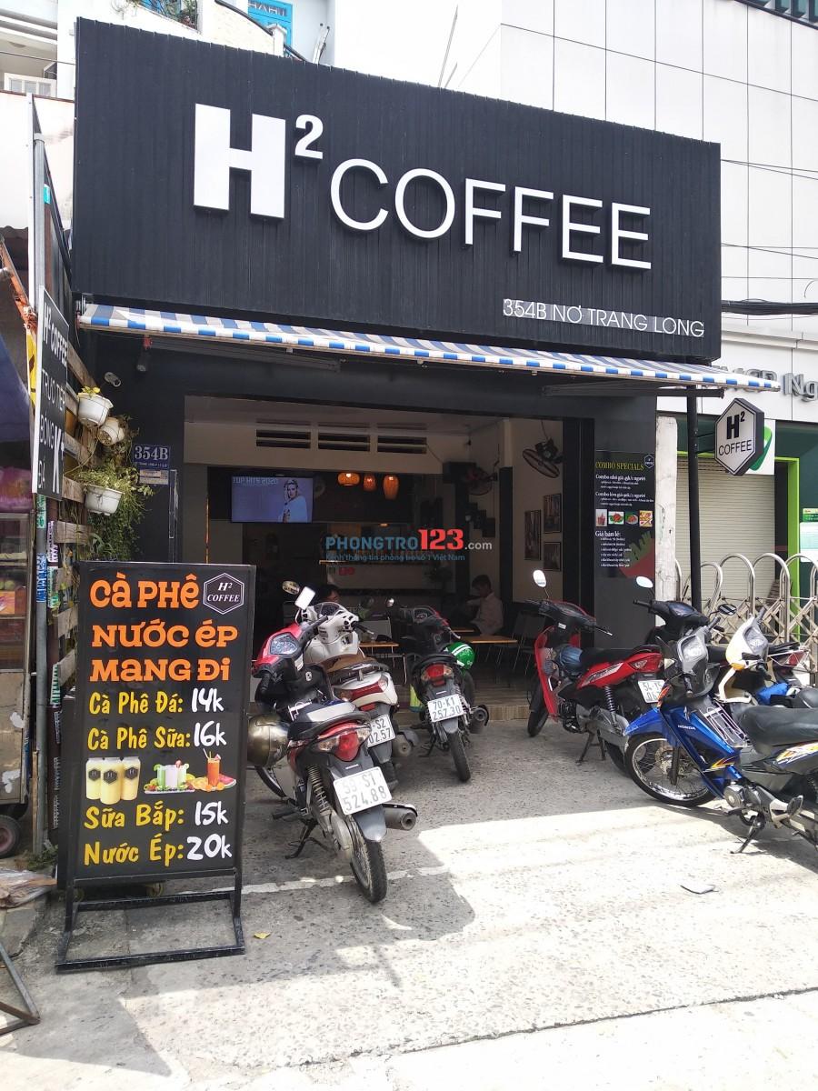 Cho thuê nhà mặt tiền 354B Nơ Trang Long, Phường 13, Quận Bình Thạnh