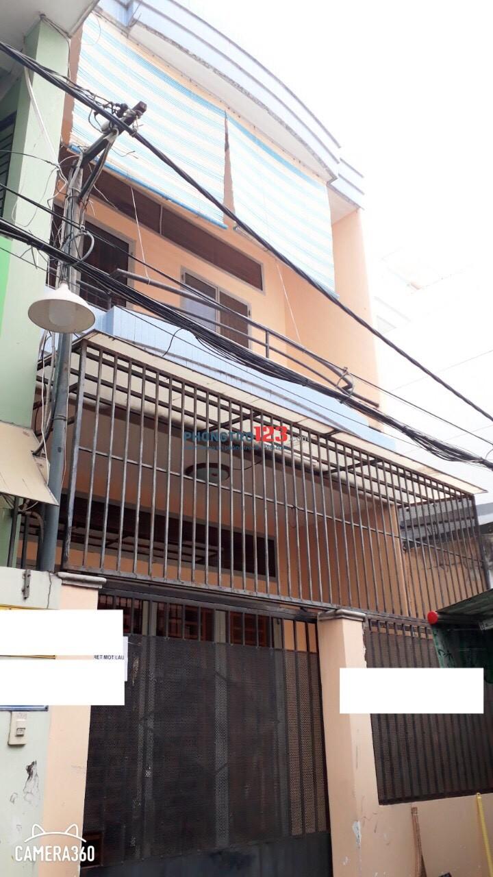 Cho thuê nhà nguyên căn 1 trệt, 1 lầu, 90m2, hẻm 159/.. Nguyễn Súy. P Tân Quý
