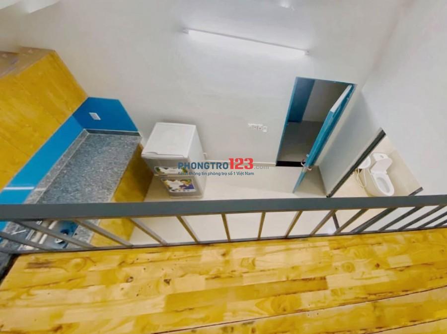 Nội thất như ảnh + máy lạnh - Mới xây - ngay Lũy Bán Bích gần dh Hồng Bàng,Văn Hiến,Cn Thực Phẩm