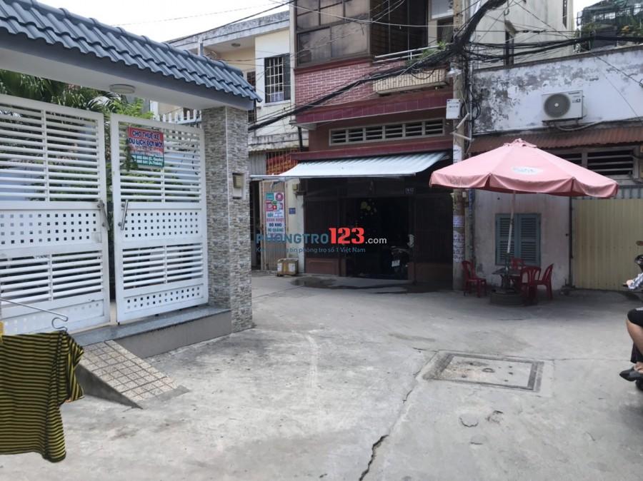 Cho thuê mặt bằng KD và phòng ở Nhà ngay góc ngã 3 hẻm tại 79/9A Tân Hòa Đông P14 Q6