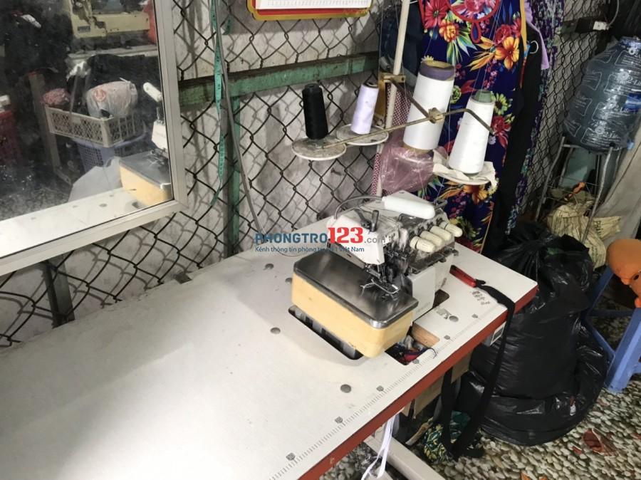 Sang lại mặt bằng KD Tiệm may giặt ủi Hẻm xe hơi 575/11 Tỉnh Lộ 10 P Bình Trị Đông B BTân